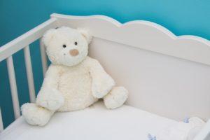 Baby crib - infertility awareness