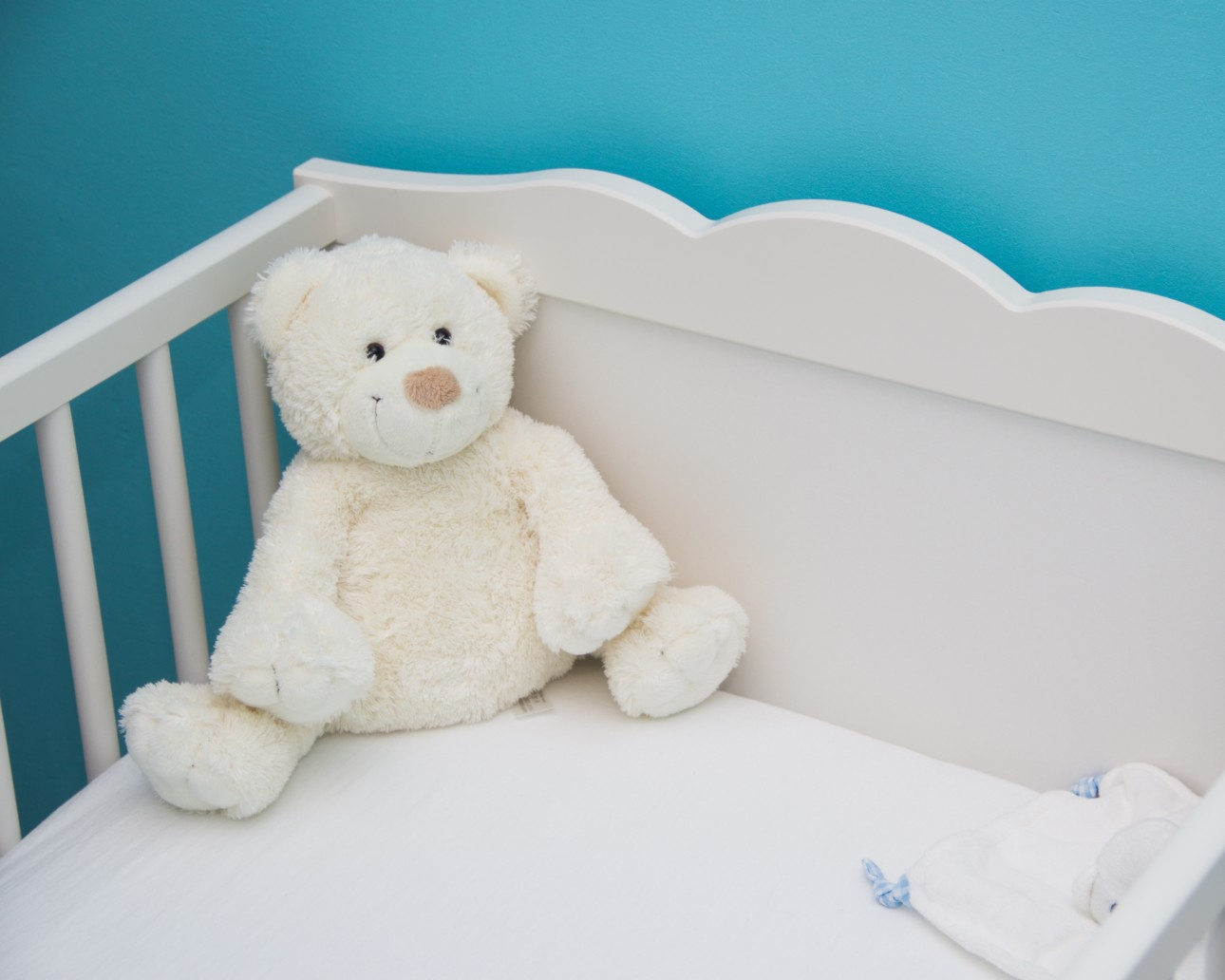 Baby crib - infertility awareness