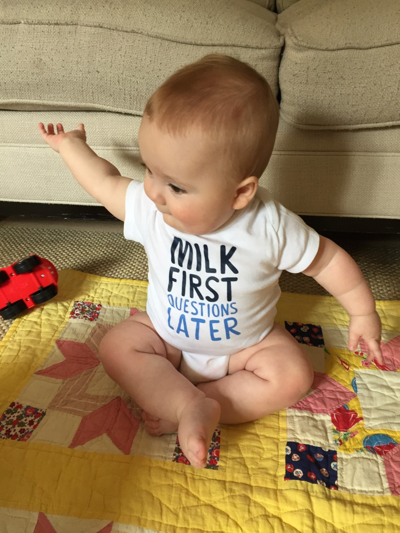 Mom's Best for Breastfeeding - Milk First Questions Later