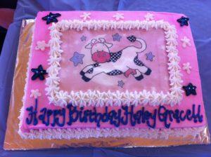 Toddler Birthday Party - birthday cake
