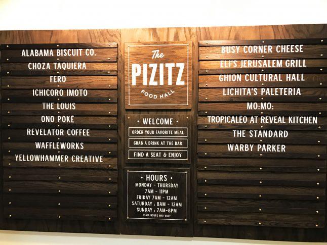 Birmingham's Pizitz Food Hall