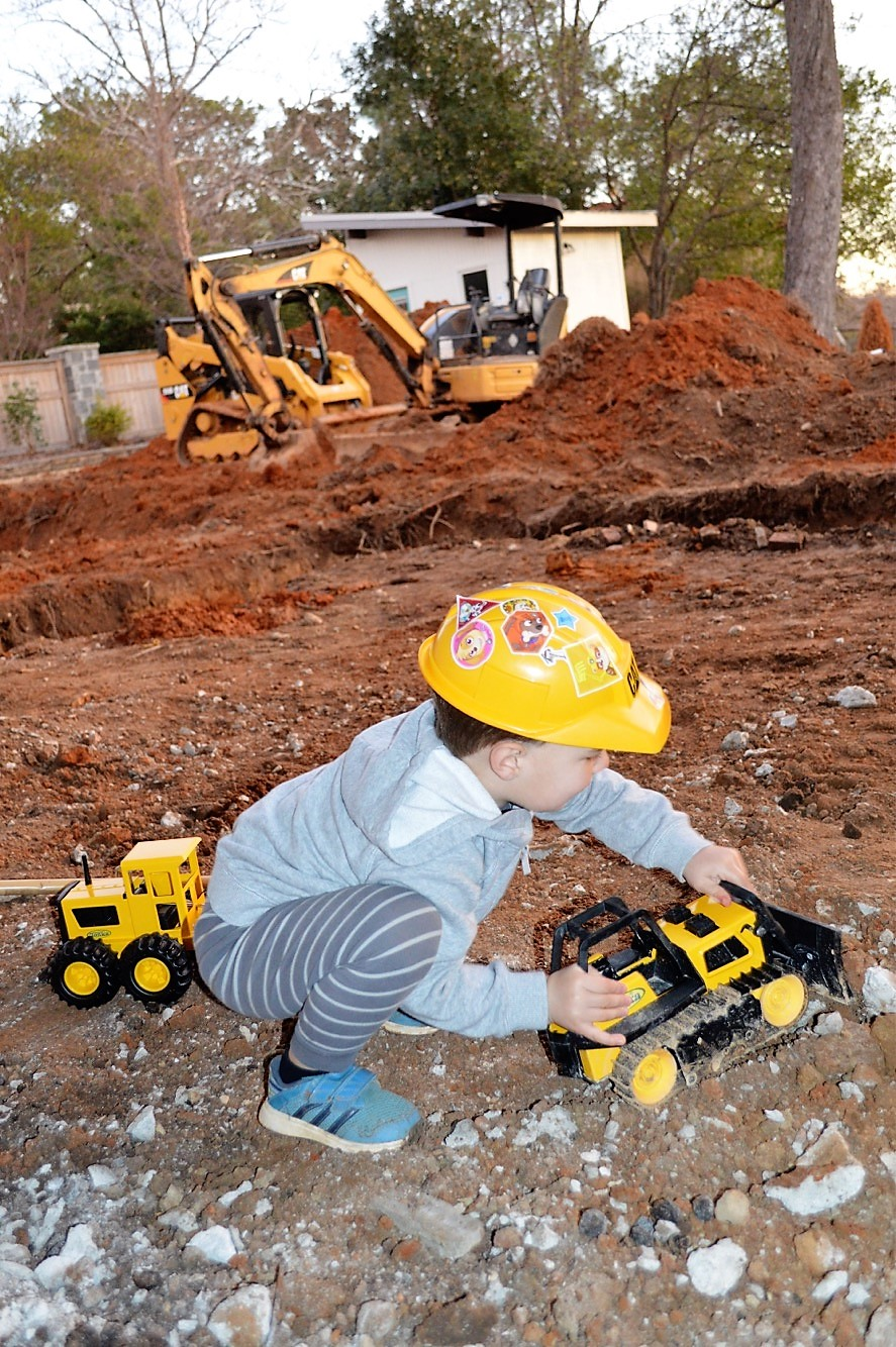 House renovation with kids