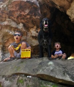Hiking with dogs and kids