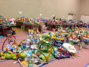 For the love of consignment sales - more than just clothes! Shop for toys and all kinds of baby gear.