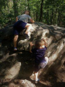 Hiking Moss Rock Preserve