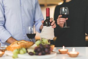 at home date nights for busy parents - wine or beer tasting