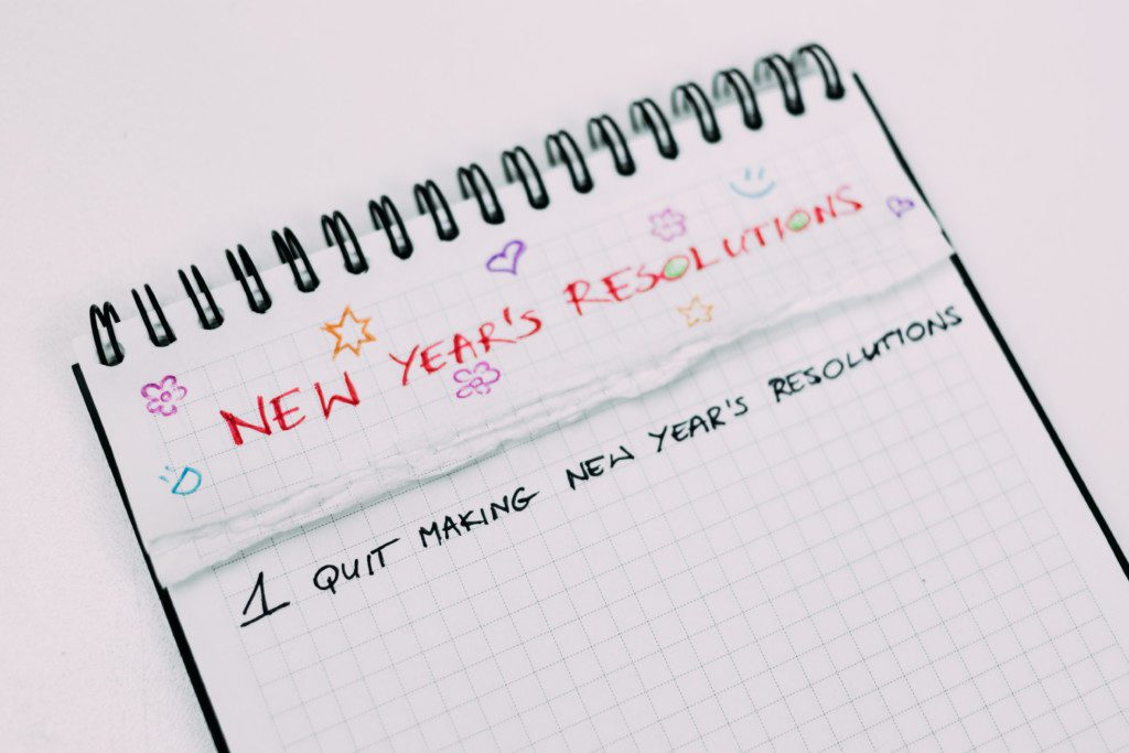 New Year, New Plan - New Year Goals