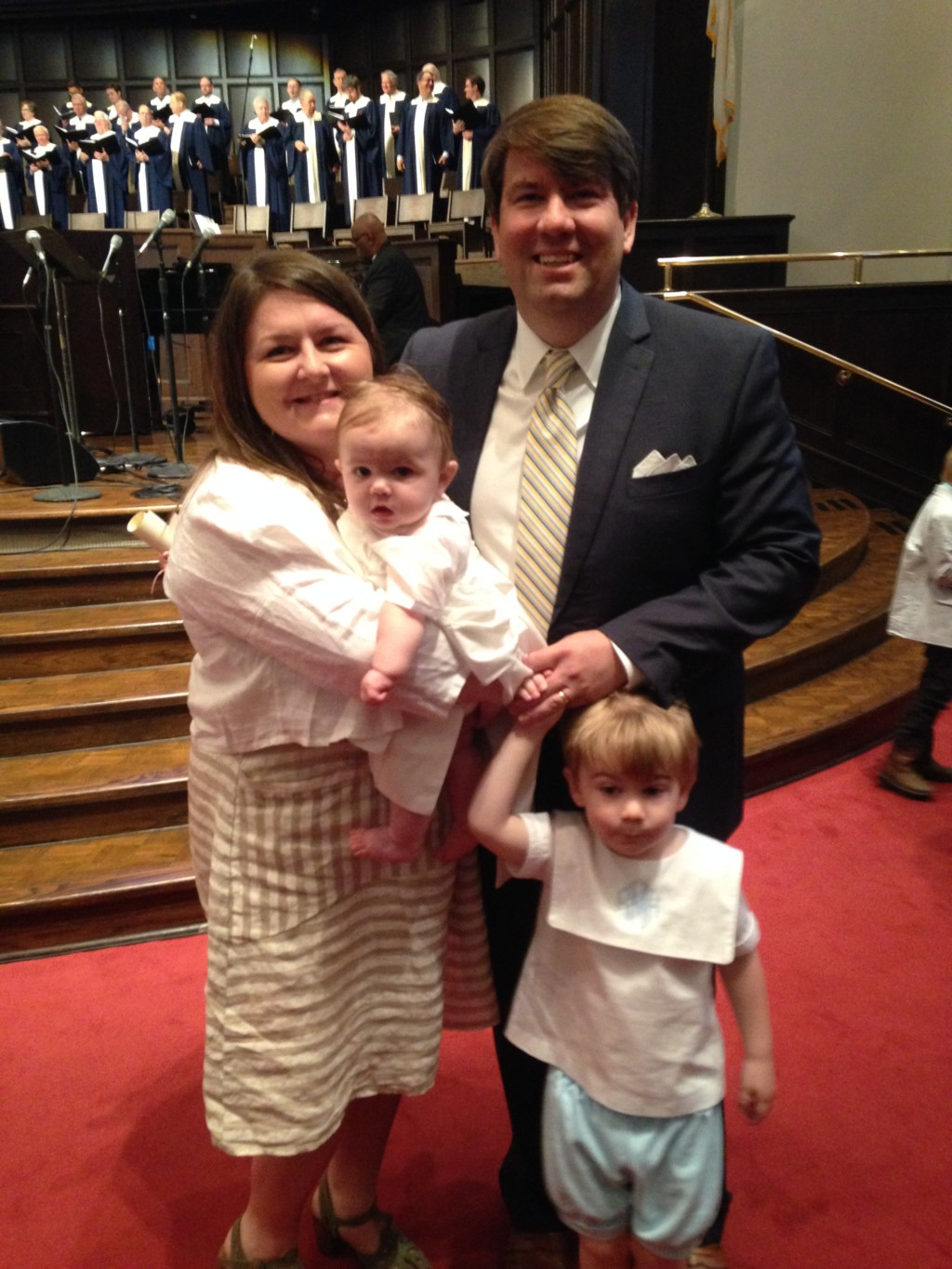 A Man's Perspective on Infertility - Bryant and family