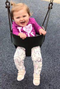 Best Parks in Birmingham - babies love swings!