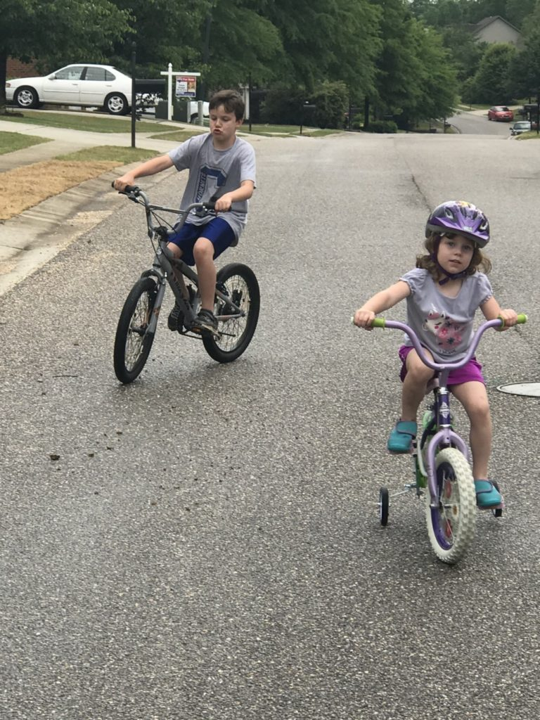 Surviving the summer as a work-at-home mom - age gap and gender differences create challenges finding activities for both kids to enjoy