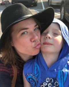 Saying goodbye to mothering an only child - just Quinn and Mommy for almost five years