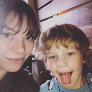 saying goodbye to mothering and only child - Quinn and Mommy