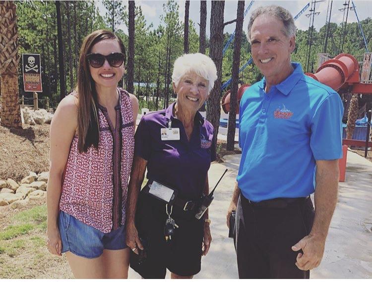 Alabama Splash Adventure - Julie with the Kochs