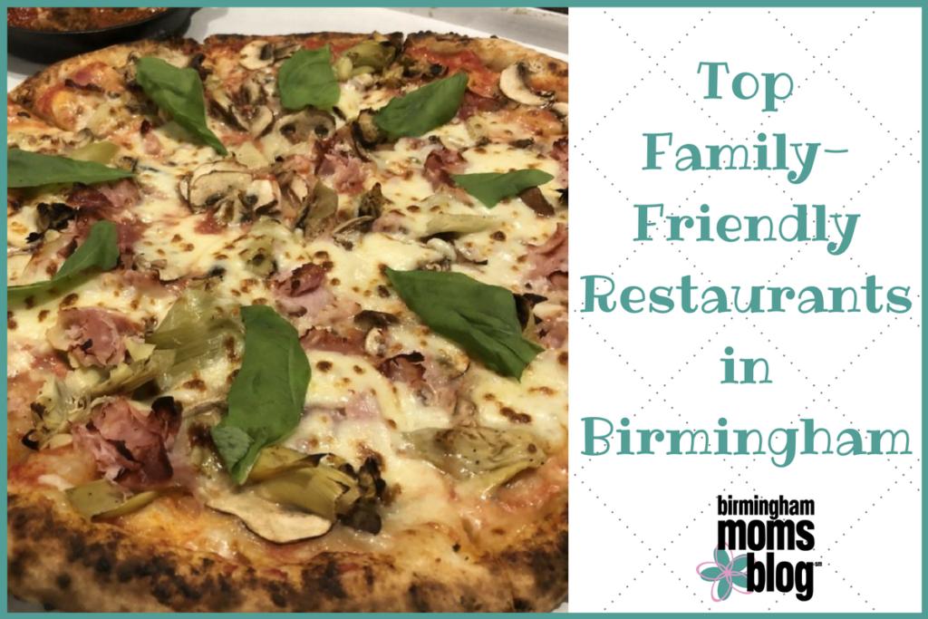 Top Family Friendly Restaurants In Birmingham
