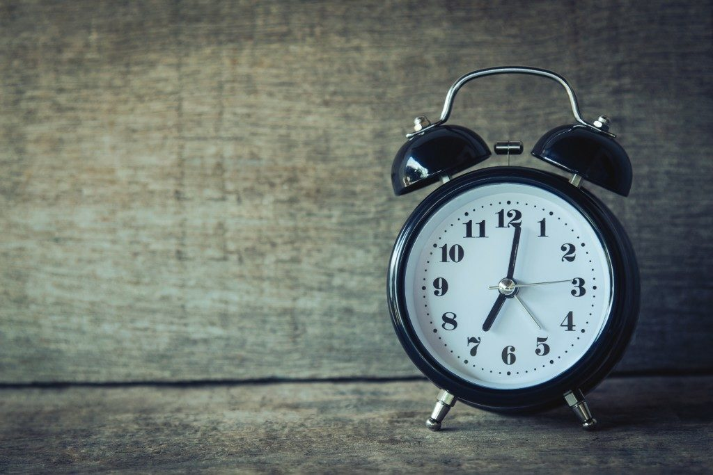 Back-to-school - move toward earlier bed times