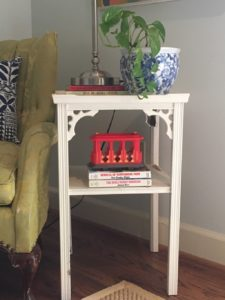 At a garage sale, you might find the perfect accent piece for your home for only one dollar!