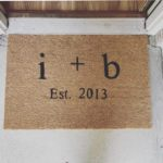 A Craft for Mom :: DIY Welcome Mat