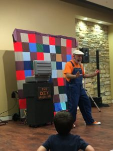 Birmingham area libraries - family night featured a magician