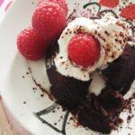 Molten Chocolate Cake :: The Ultimate Dessert Recipe for any Valentine's Day Celebration!