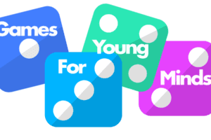 Games for Young Minds Dice Logo