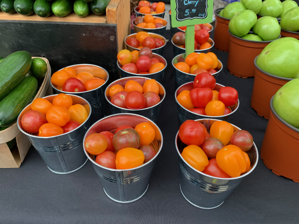 The Market at Pepper Place - beautiful, fresh produce!