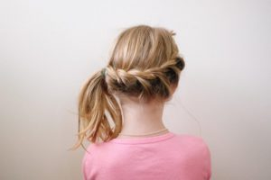 happy hair ideas for girls - you can get very creative with braids!
