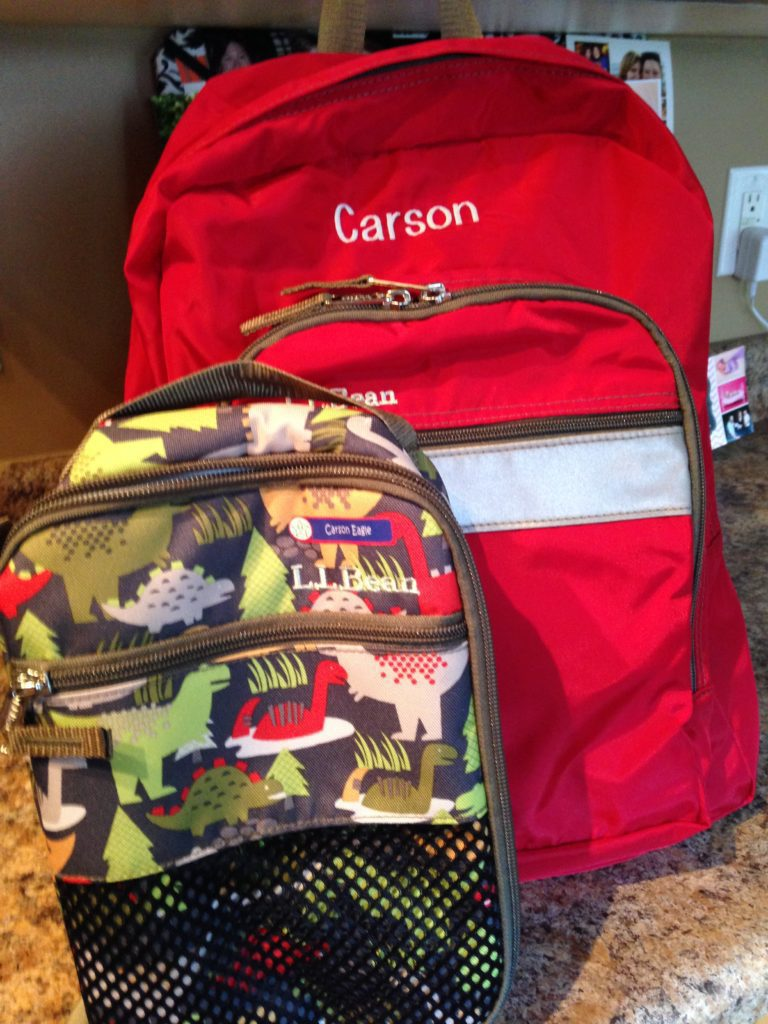 ready for kindergarten - invest in a backpack that will last!