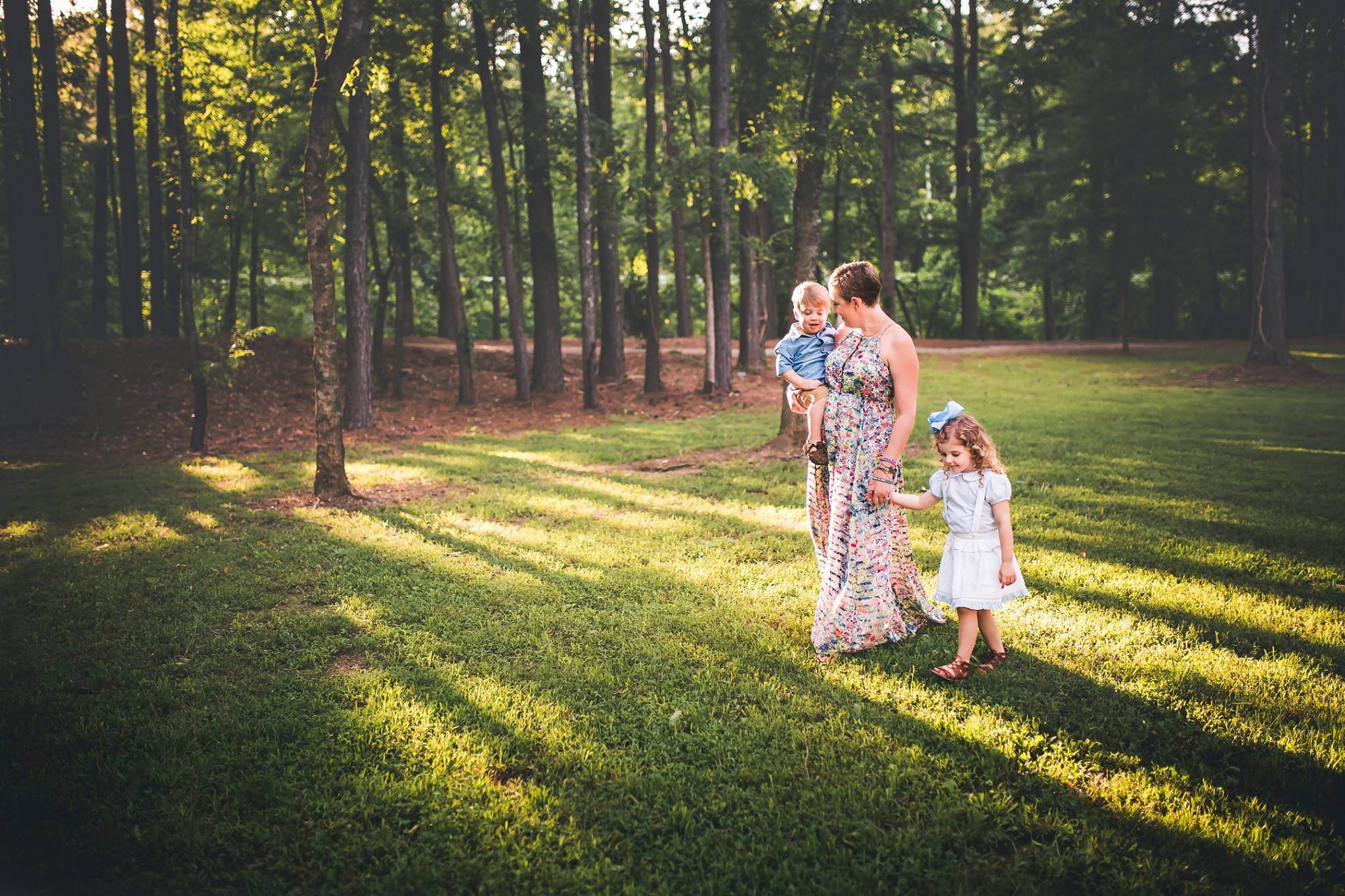 """""""I don't want to leave you"""" - a devastating thought for a mom of young kids who is facing the return of breast cancer."""