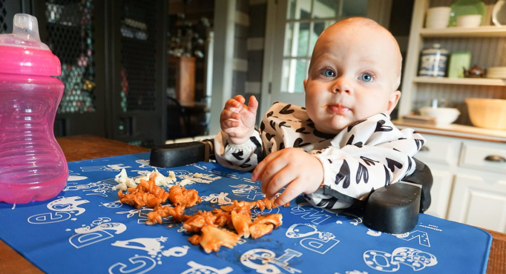 Baby Led Weaning :: Everything You Ever Wanted to Know -- Teaching Babies to Eat Independently