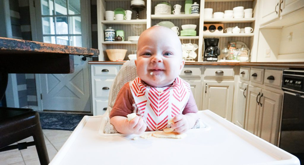 Baby Led Weaning :: Everything You Ever Wanted to Know -- Including baby at meal time