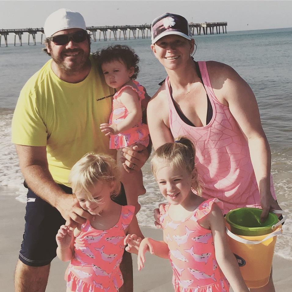 Family beach vacation - a lot of work but precious memories!