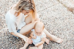 mom and baby, self-care