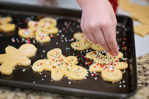 Holiday traditions - baking cookies