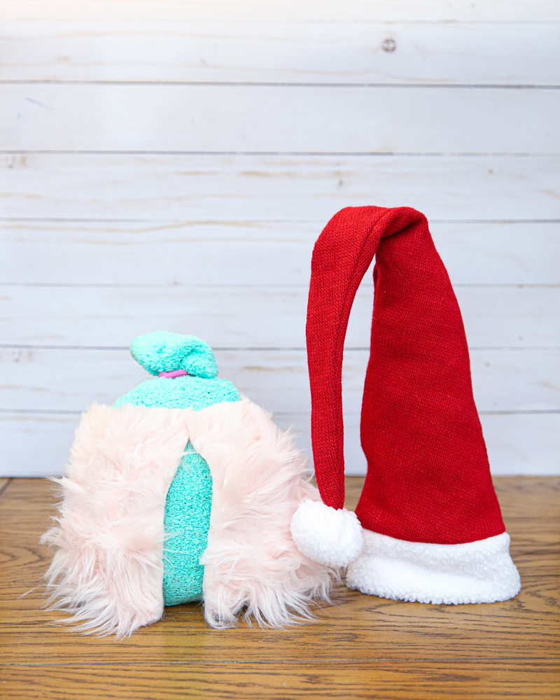 love gnomes sock gnomes craft - make it easier with a cordless hot glue gun