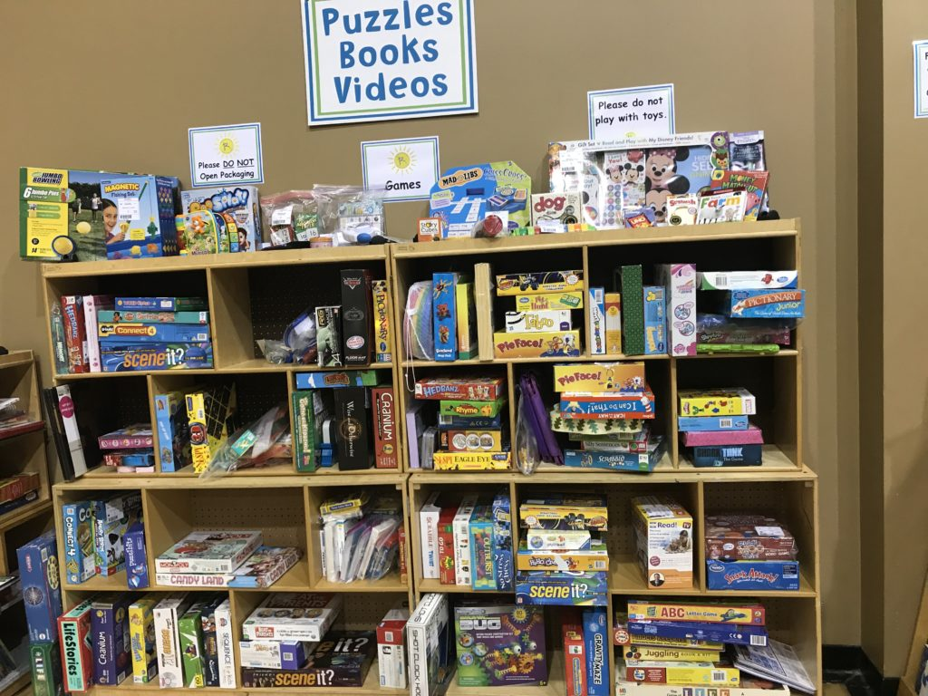 Guide to Birmingham consignment sales - puzzles and games