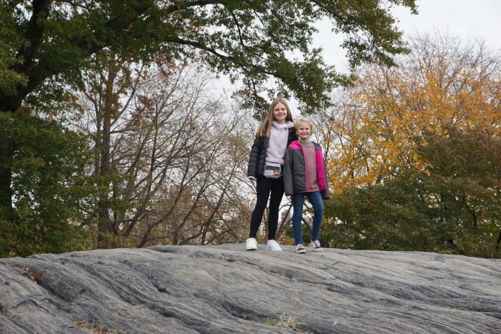 Traveling with our kids to New York City