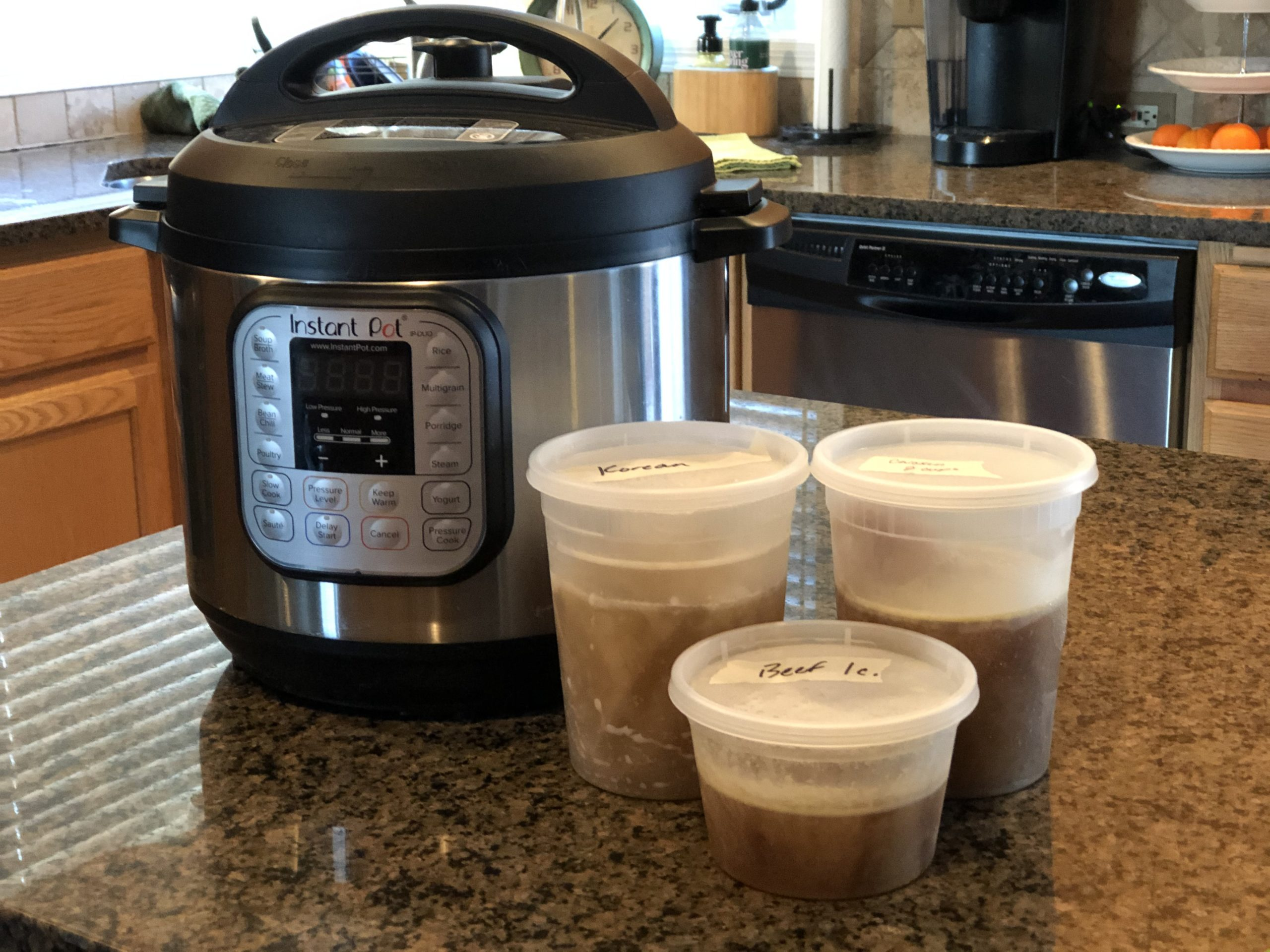 Make stock in the Instant Pot - you will not want to go back to store-bought versions.