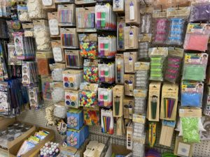 The Dollar Tree has many crafts perfect to do during a quarantine!