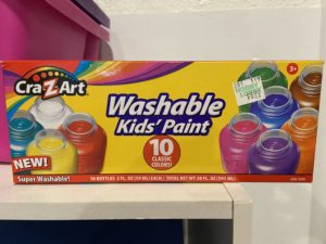 Washable paint for the win if we need to quarantine!
