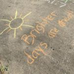 Bear Hunts, Easter Eggs, and Chalk :: Coming Together During Quarantine