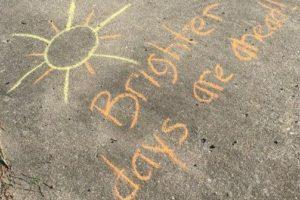 Quarantine adventure: chalk your walk!