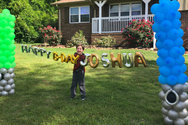 Celebrate a birthday during quarantine with yard decor!