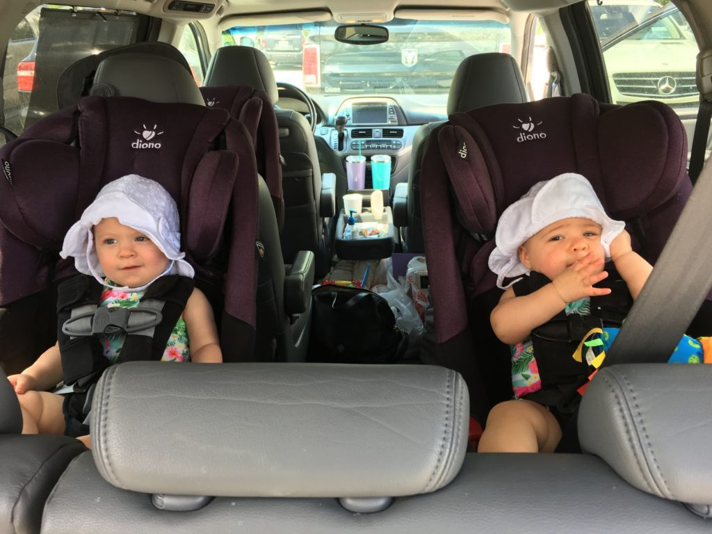tips for saving sanity and money when taking a road trip with kids - good car seats