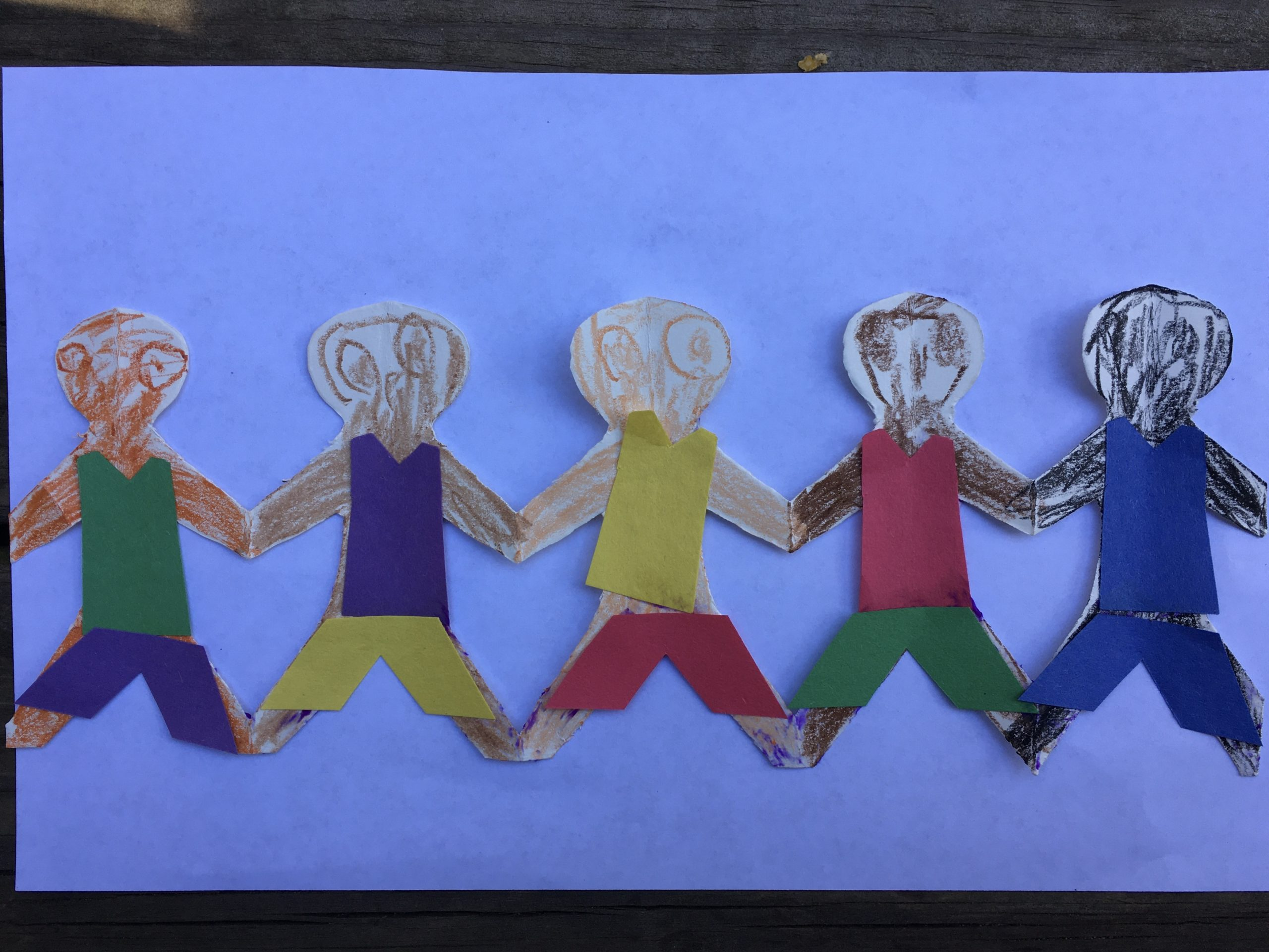 teaching our kids to celebrate diversity - diverse paper dolls