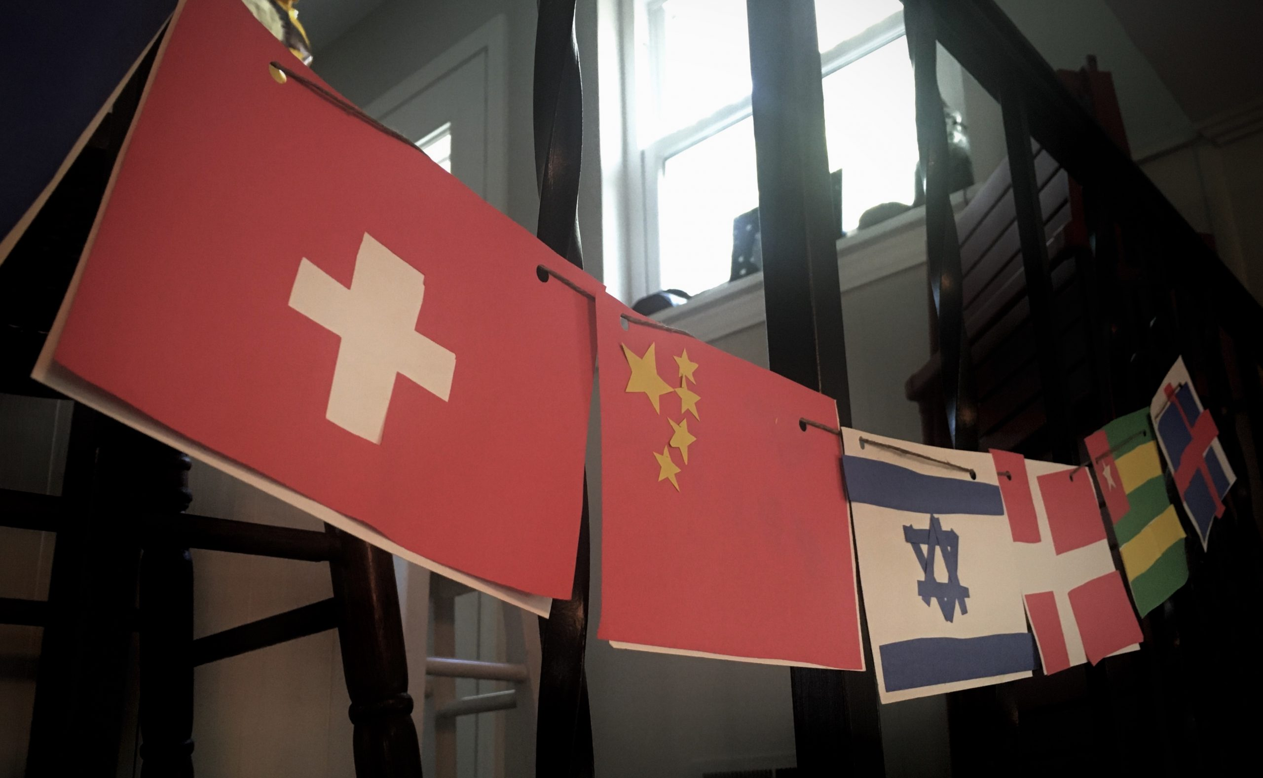 teaching our kids to celebrate diversity - flags of the world