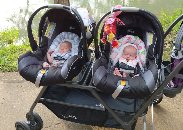 what to pack in your hospital bag when having twins - Double Stroller