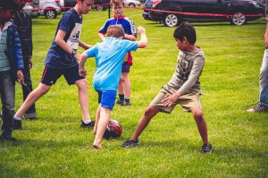 Diversify your circle of friends - host a group activity, such as Soccer Shots, in your neighborhood.