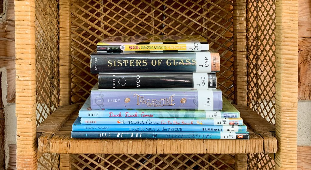 Visiting the Library During a Pandemic - great selections for National Book Lovers Day