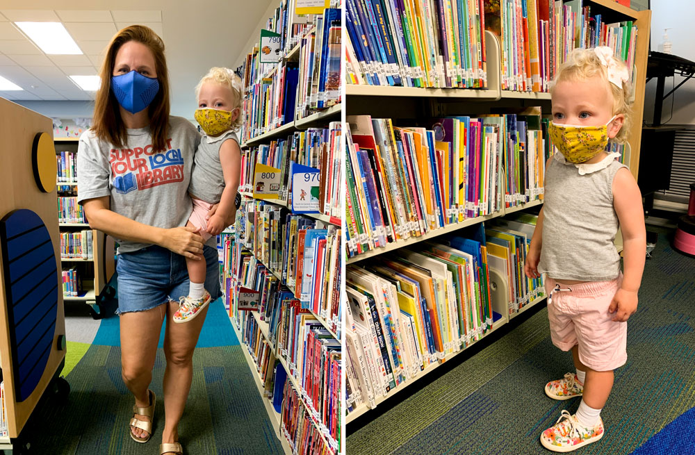 National Book Lovers Day - First visit to the library during the pandemic