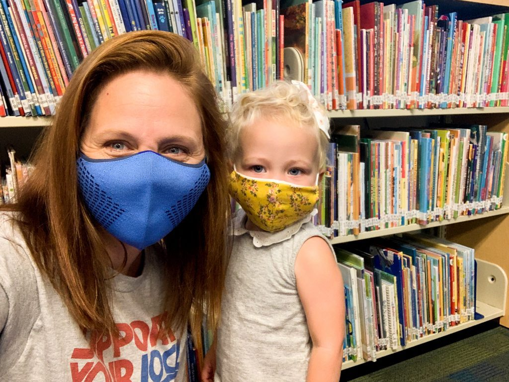 Visiting the Library During a Pandemic